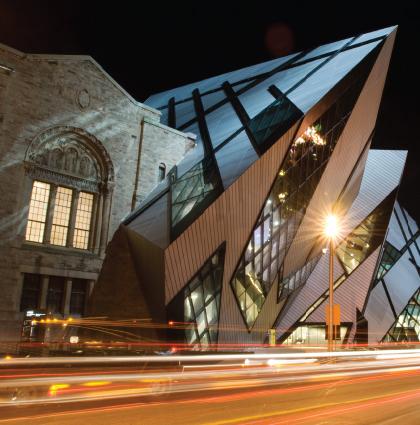Wayfinding at the Royal Ontario Museum